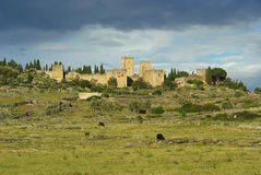 Trujillo. An old town in Spain Royalty Free Stock Photo