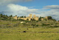 Trujillo. A town in southern spain, extremadura Stock Image