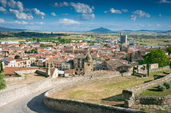 Trujillo, Caceres, Spain. General view of trujillo from the castle Stock Photos