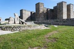Trujillo Castle. Medieval castle in Trujillo, Extremadura, Spain Stock Photos