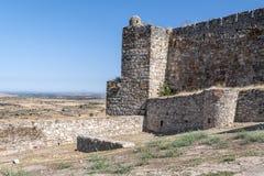 Trujillo castle Stock Images