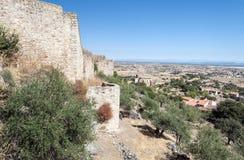 Trujillo castle Stock Photo