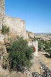 Trujillo castle in vertica Stock Photography