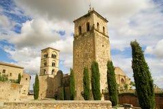 Trujillo church. In Extremadura, Spain Stock Photography