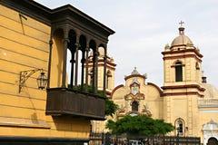 Trujillo Church Royalty Free Stock Image