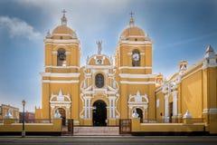 Trujillo domkyrka - nord av Peru Arkivbilder