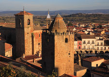 Trujillo, Extremadura, Spain. Medieval towers. Stock Photo