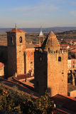 Trujillo, Extremadura, Spain. Medieval towers. Royalty Free Stock Photo