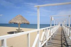 Trujillo na plaży Fotografia Royalty Free