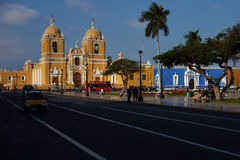 Trujillo Plaza de Armas Royalty Free Stock Photo