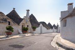 Truli houses on Alberobello, Italy Stock Image