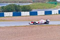 trulli Тойота команды jarno 2004 f1 Стоковые Фотографии RF
