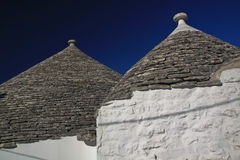 Trulli - 2 Stock Photography