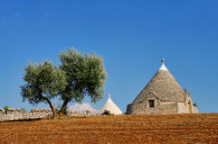 Trulli Royalty Free Stock Photos