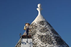 Trulli - 4 Royalty Free Stock Photos