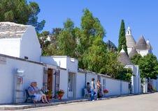 Trulli Alberobello Стоковое Изображение RF