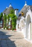 Trulli Alberobello Стоковые Изображения RF