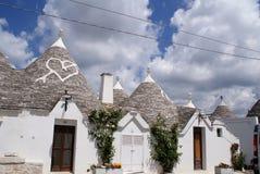 Trulli Alberobello Zdjęcia Stock