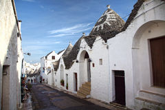Trulli in alberobello Royalty Free Stock Photography