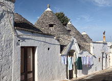 Trulli in alberobello Stock Image