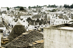 Trulli in Alberobello   Stockbild