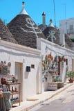 Trulli, Alberobello Royalty-vrije Stock Fotografie