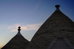 Trulli Alberobello Apulia Ιταλία στοκ εικόνες με δικαίωμα ελεύθερης χρήσης
