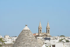 Trulli. Alberobello. Apulia. Stock Photo