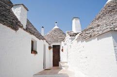 Trulli. Alberobello. Apulia. royalty free stock photos