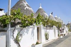 Trulli. Alberobello. Apulia. royalty free stock images