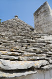 Trulli. Alberobello. Apulia. Royalty Free Stock Images