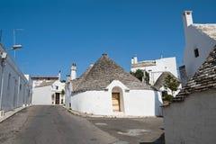 Trulli. Alberobello. Apulia. Royalty Free Stock Photo