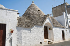 Trulli. Alberobello. Apulia. Royalty Free Stock Photography