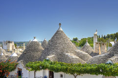 Trulli. Alberobello. Apulia. Stock Photography