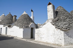 Trulli. Alberobello. Apulia. Royalty Free Stock Photo