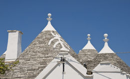 Trulli. Alberobello. Apulia. Stock Photos