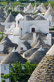 Trulli in Alberobello (Apulia, Italy) Stock Images