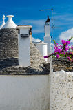 Trulli in Alberobello (Apulia, Italy) Royalty Free Stock Photography