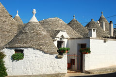 The Trulli of Alberobello in Apulia - Italy n106 Royalty Free Stock Images