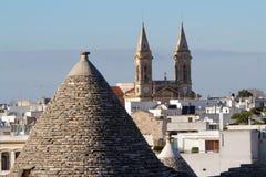 Trulli Alberobello Apulia Italy royalty free stock photography