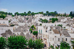 Trulli of Alberobello Stock Images