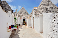 Trulli of Alberobello Royalty Free Stock Images