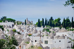 Trulli of Alberobello Stock Photo