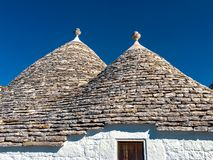 Trulli of Alberobello stock photography
