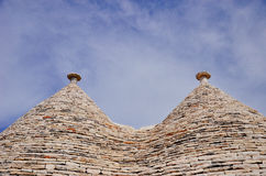 Trulli of Alberobello Royalty Free Stock Photo