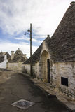 The Trulli of Alberobello. District. Alberobello, Puglia: Trulli, ancient district. World Heritage Site Stock Image