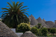 Trulli in Alberobello, Italy Stock Photos
