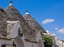 Trulli in Alberobello, Italy Royalty Free Stock Photo