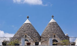 Trulli in Alberobello, Italy Stock Photo