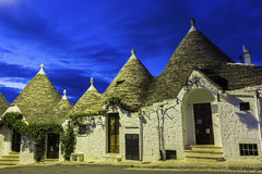 The Trulli of Alberobello in Italy Royalty Free Stock Photography